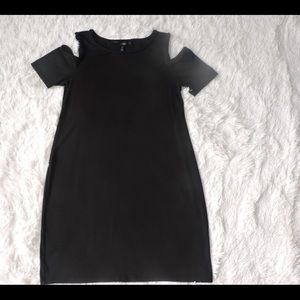 White House Black Market cold-shoulder dress